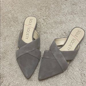 New Cute sole society Mules